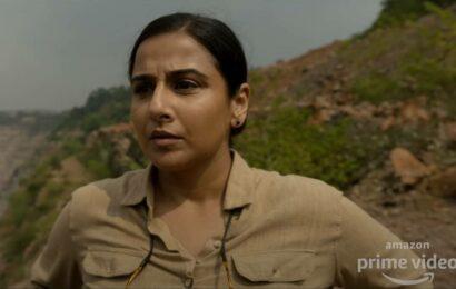 Sherni teaser: Vidya Balan's forest officer finds her way in the wild, watch