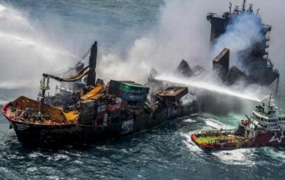 Sri Lanka to sue Singapore vessel owners over pollution