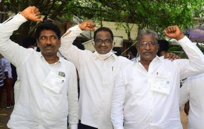 TRS registers an emphatic victory in Khammam civic polls