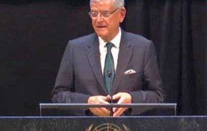 UNGA President encourages India, Pakistan to resolve Kashmir issue through 'peaceful means'