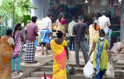Vegetable and fruit shops, markets are hotspots: official