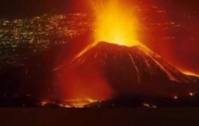 Volcano erupts near Congolese city of Goma; residents flee