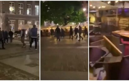 Watch: Man United fans attacked, robbed in Gdansk before Europa League final