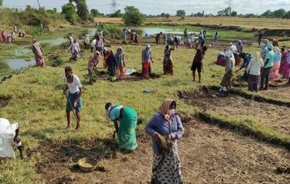 2.17 lakh households have already MGNREGA's 100-day limit