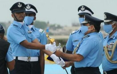 31 girl cadets among 161 commissioned at IAF graduation parade