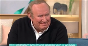 Andrew Neil in tears as he thanks This Morning's Holly and Phil ahead of GB News launch