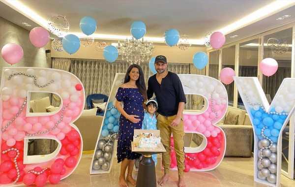 At Geeta Basra's virtual baby shower