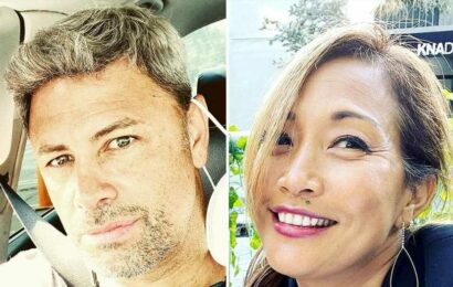 Back On? Carrie Ann Inaba Cuddles Up to Ex Fabien After Saying She's Single