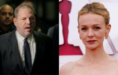Carey Mulligan to play journalist in film on Harvey Weinstein scandal