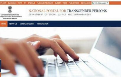 Centre's transgender ID portal now available in regional languages