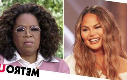 Chrissy Teigen 'wants interview with Oprah to save her reputation'