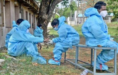Coronavirus   1.29 lakh new cases and 3,163 deaths registered