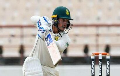De Kock's 141 puts South Africa on top against West Indies