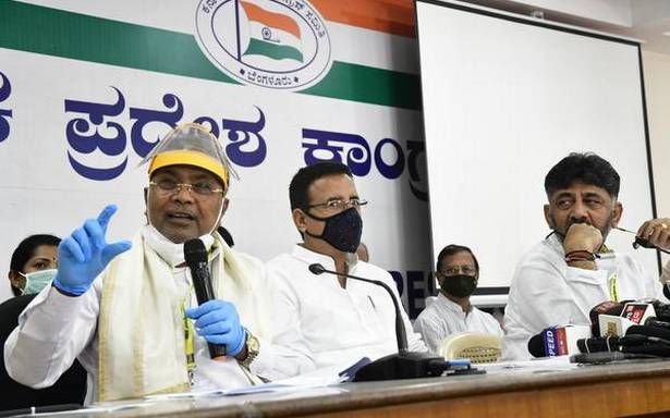 Don't issue statements on CM face of Congress for 2023 Assembly elections in Karnataka: Surjewala