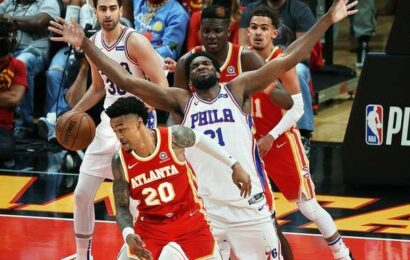 Embiid helps Sixers roll over Hawks