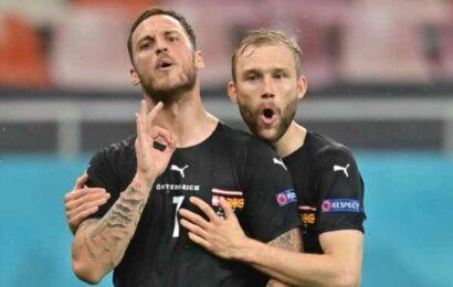 Euro 2020: Controversy behind Arnautovic's goal celebration