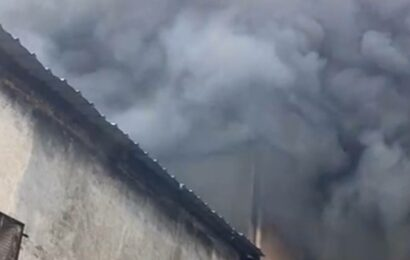 Fire breaks out at shoe factory in Delhi's Udyog Nagar, six persons feared missing