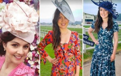 GMB's Laura Tobin's Ascot outfit changes garner attention as she swaps hat FIVE times