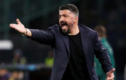 Gennaro Gattuso leaves Fiorentina three weeks after becoming head coach