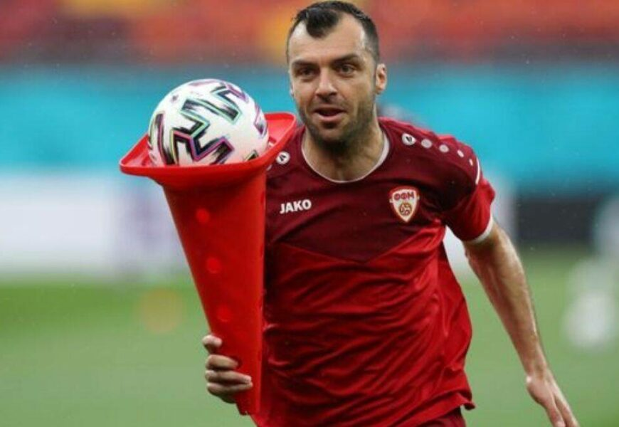 Goran Pandev: The old warhorse carrying North Macedonia on his shoulders