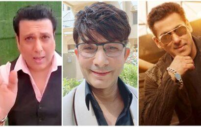 Govinda says not supporting KRK in legal tussle with Salman Khan: 'My name was dragged into Kartik Aaryan losing films too'