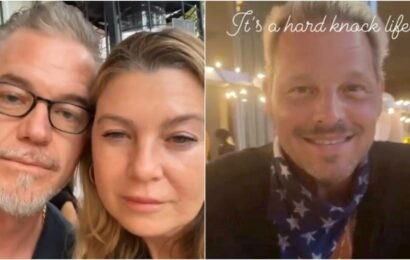 Grey's Anatomy's Alex Karev turns a blonde waiter for Meredith Grey and Mark Sloan at dinner meet, watch videos