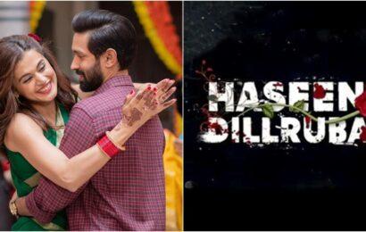 Haseen Dillruba: Taapsee Pannu film to release on Netflix, actor calls it 'ultimate kaunspiracy'