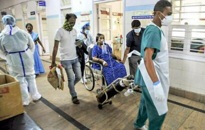 Hospital stay is longer in second wave