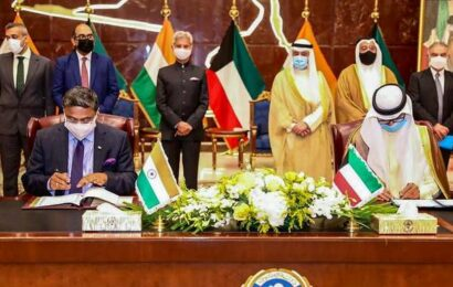 India, Kuwait sign MoU for cooperation on recruitment of domestic workers