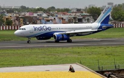 Indigo flight's tyre bursts while landing in Hubballi, passengers safe