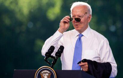 Joe Biden gives Vladimir Putin custom aviator sunglasses