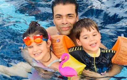 Karan Johar celebrates being a father to Yash and Roohi: 'My endeavour is to never stereotype them by gender'