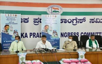 Karnataka Congress launches video contest for children on COVID-19 vaccination