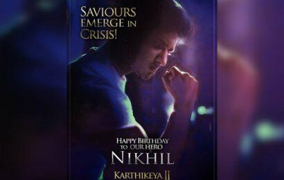 Karthikeya 2 birthday poster: Nikhil as a Saviour in Crisis