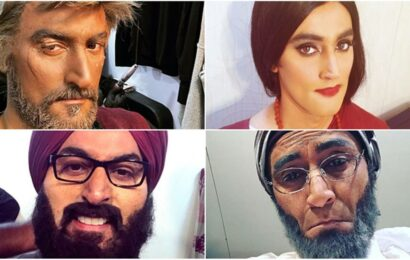 Kunal Kapoor is unrecognisable in these 4 photos, leaves fans scratching their heads