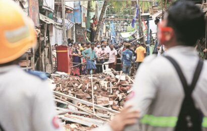 Malad building collapse: Survey begins to identify and evacuate 'illegal structures'; demolition to follow, say officials