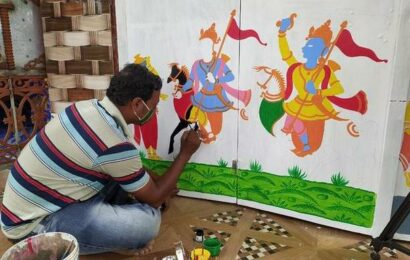 Odisha village paints to tide over the pandemic