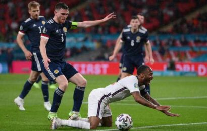 PICS: England given reality check by gutsy Scotland