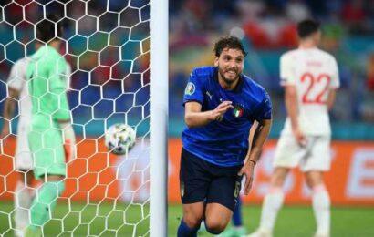 PICS: Locatelli brace sends Italy into Euro knock-outs