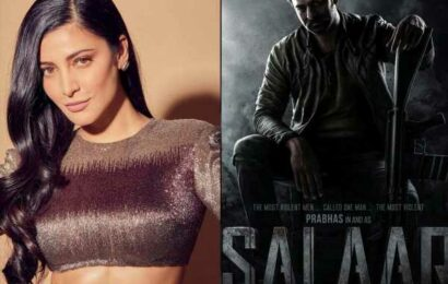 Prabhas and Shruti Haasan Salaar to release in two parts