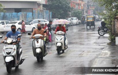 Pune weather forecast today: Cloudy skies and moderate rain likely on Saturday