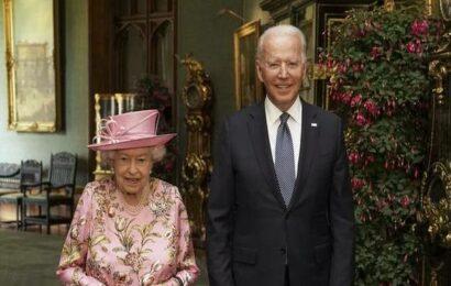 Queen Elizabeth II 'reminded me of my mother', says Joe Biden