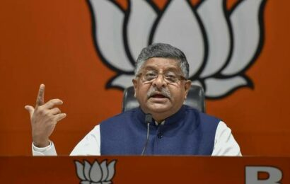 Ravi Shankar Prasad asks Congress to make its stand clear on Digvijaya Singh's remarks on Article 370