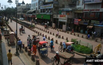 Revamped Chandni Chowk stretch attracts crowds, not business