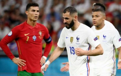Ronaldo's record-equalling goals to Benzema's double blow: Defending Champions survive 'Group of Death'