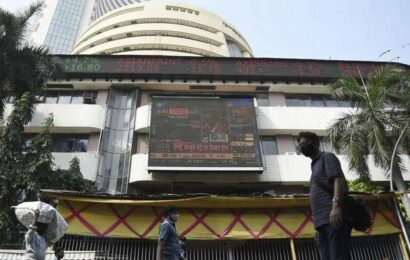 Sensex drops 186 points on profit-booking; Nifty ends below 15,800