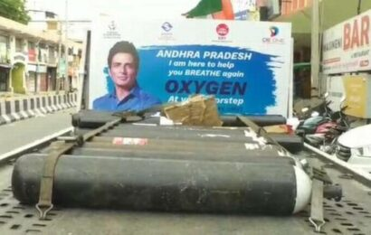 Sood Charity Foundation begins medical oxygen service in Andhra Pradesh