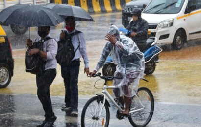 Southwest monsoon covers entire state in five days, more days of heavy rains predicted for Mumbai