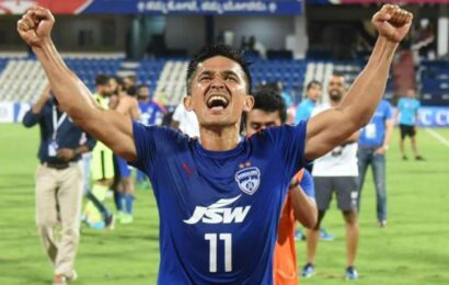 Sunil Chhetri extends contract with Bengaluru FC for another two years
