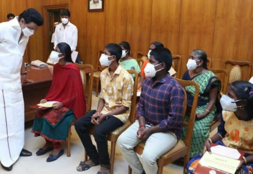 TN CM rolls out scheme to help children who lost parents to Covid-19